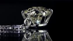 プラチナ1.20ctダイヤモンドペンダントネックレス カット5