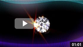 トリプルエクセレントダイヤモンドルース 黒背景