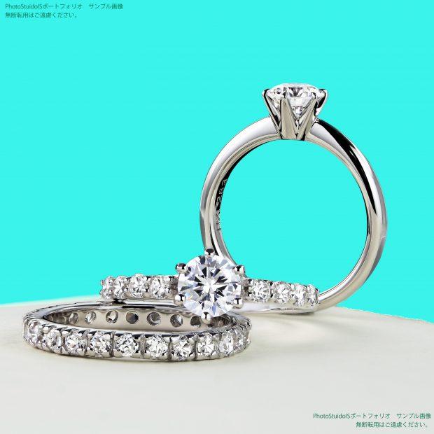 エタニティリング、婚約指輪 フォトスタジオISの撮影実績写真サンプル