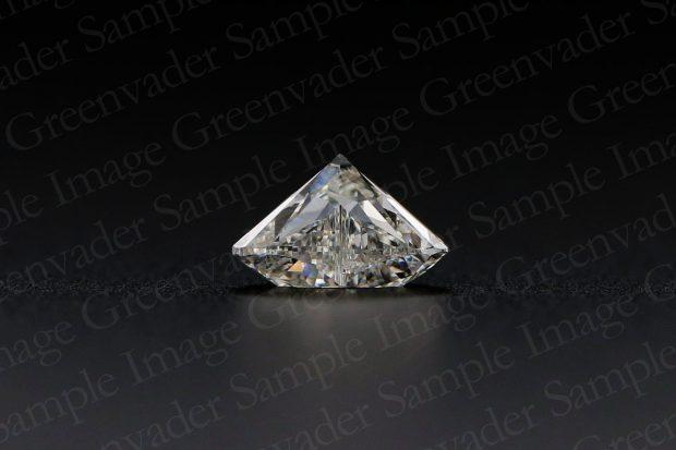 ハートカット ダイヤモンドルース 横方向 黒背景 撮影実績写真サンプル-PhotoStudioIS
