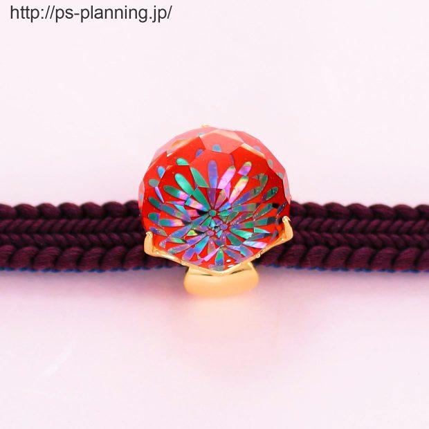 水晶螺鈿 花火をイメージさせる和風帯留め 帯とともに 撮影実績写真サンプル-PhotoStudioIS
